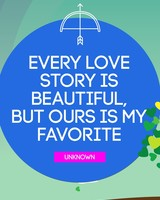 Beautiful Favorite Love Story Quote