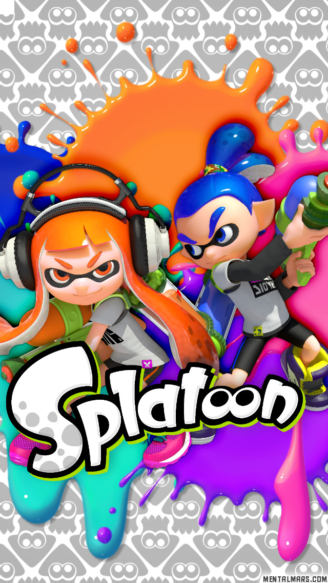 Free Splatoon Wallpaper iPhone 5 phone wallpaper by ash_ketchump