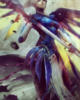 Mercy Artwork Overwatch
