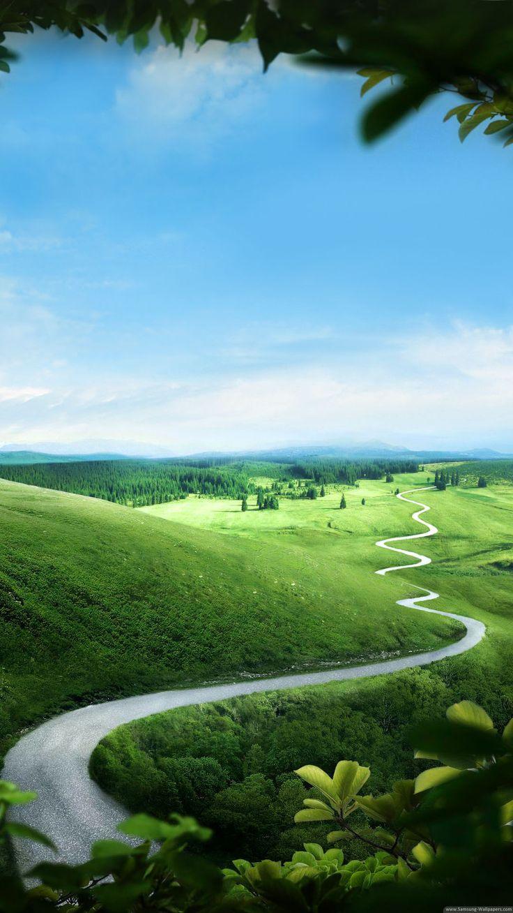 Free Green Nature phone wallpaper by ash_ketchump