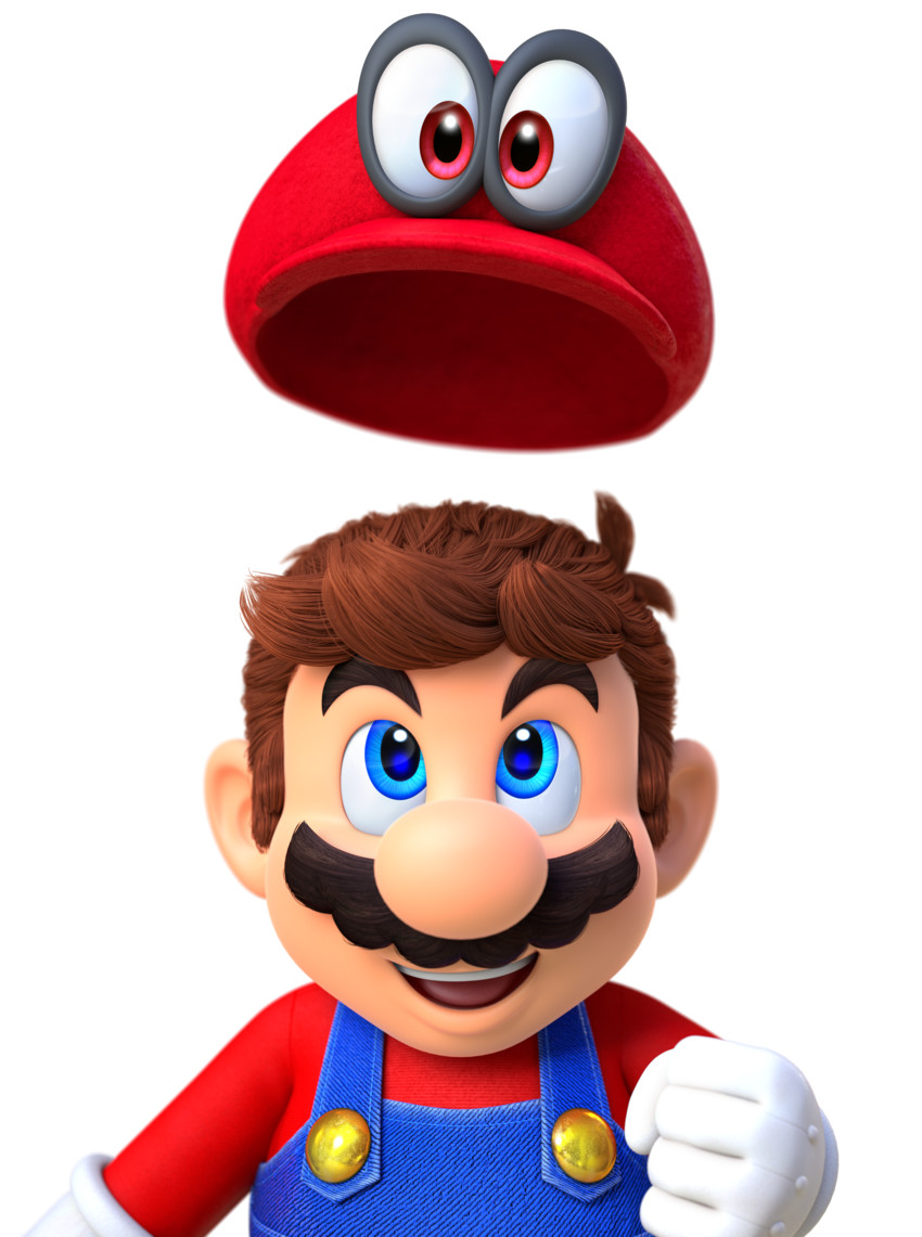 Free Cappy and Mario (Super Mario Odyssey) phone wallpaper by ash_ketchump
