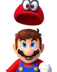 Cappy and Mario (Super Mario Odyssey)
