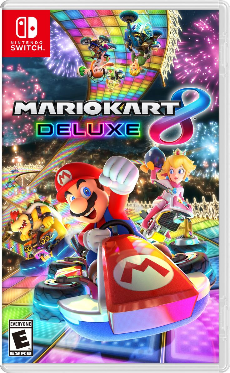 Free Mario Kart 8 Deluxe Box Art phone wallpaper by ash_ketchump