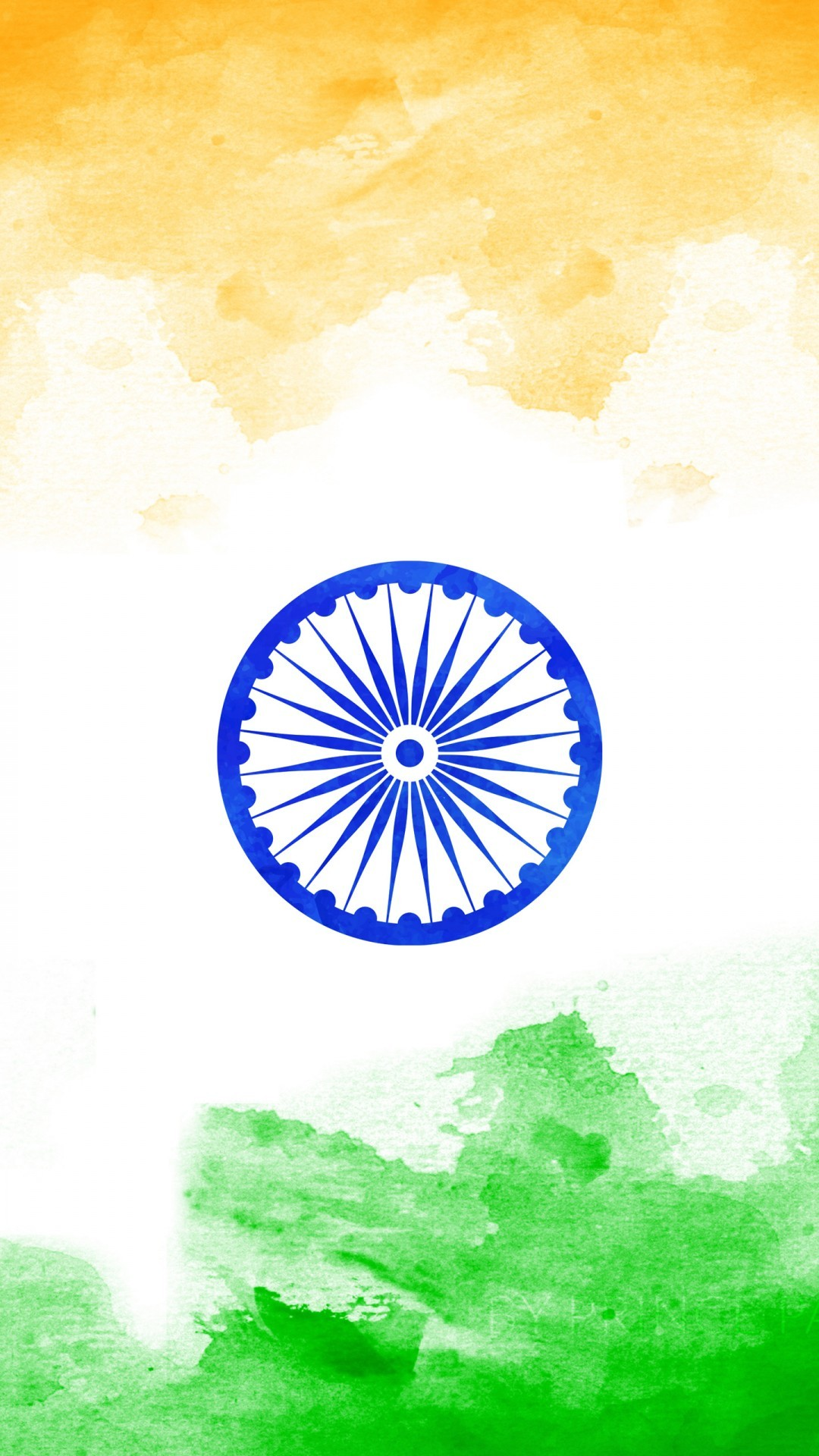 Free Tricolour Indian Flag phone wallpaper by tina053084