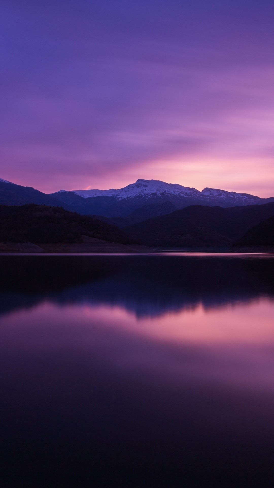 Free Mountains, Lake, Night, Reflection phone wallpaper by rissaneal