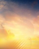 Sunset Horizon Samsung Galaxy Note 8 Stock