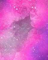 Pink Watercolor Stains
