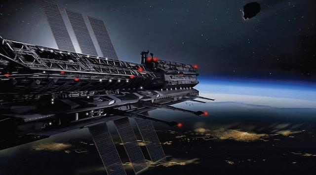 Free asgardia space station credit to James Vaughan..jpg phone wallpaper by yusufbk