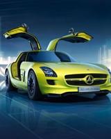 Mercedes Benz SLS AMG E Cell