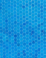 Blue Hexahedral Texture