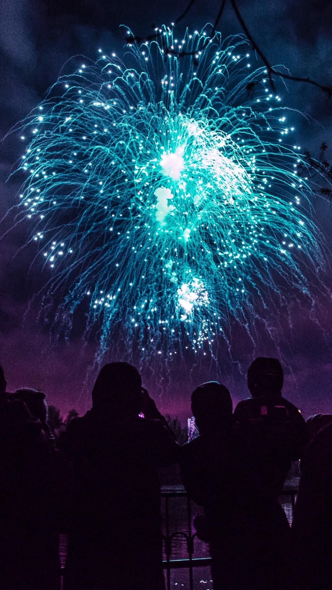 Free Fireworks phone wallpaper by damonneath