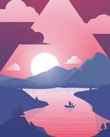 Sunset Scenery Minimal
