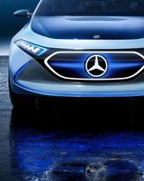 Mercedes Benz Concept EQ A 2017 Frankfurt Motor Show
