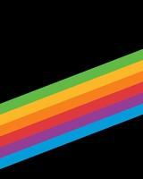 Heritage Rainbow Stripe