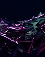 3D Dark Traingles