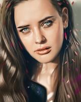 Katherine Langford Fan Art