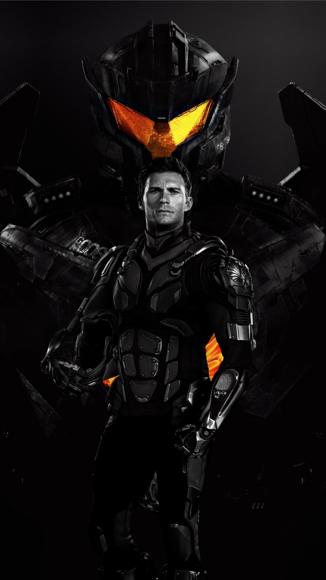 Free Scott Eastwood Pacific Rim Uprising phone wallpaper by stevekingman