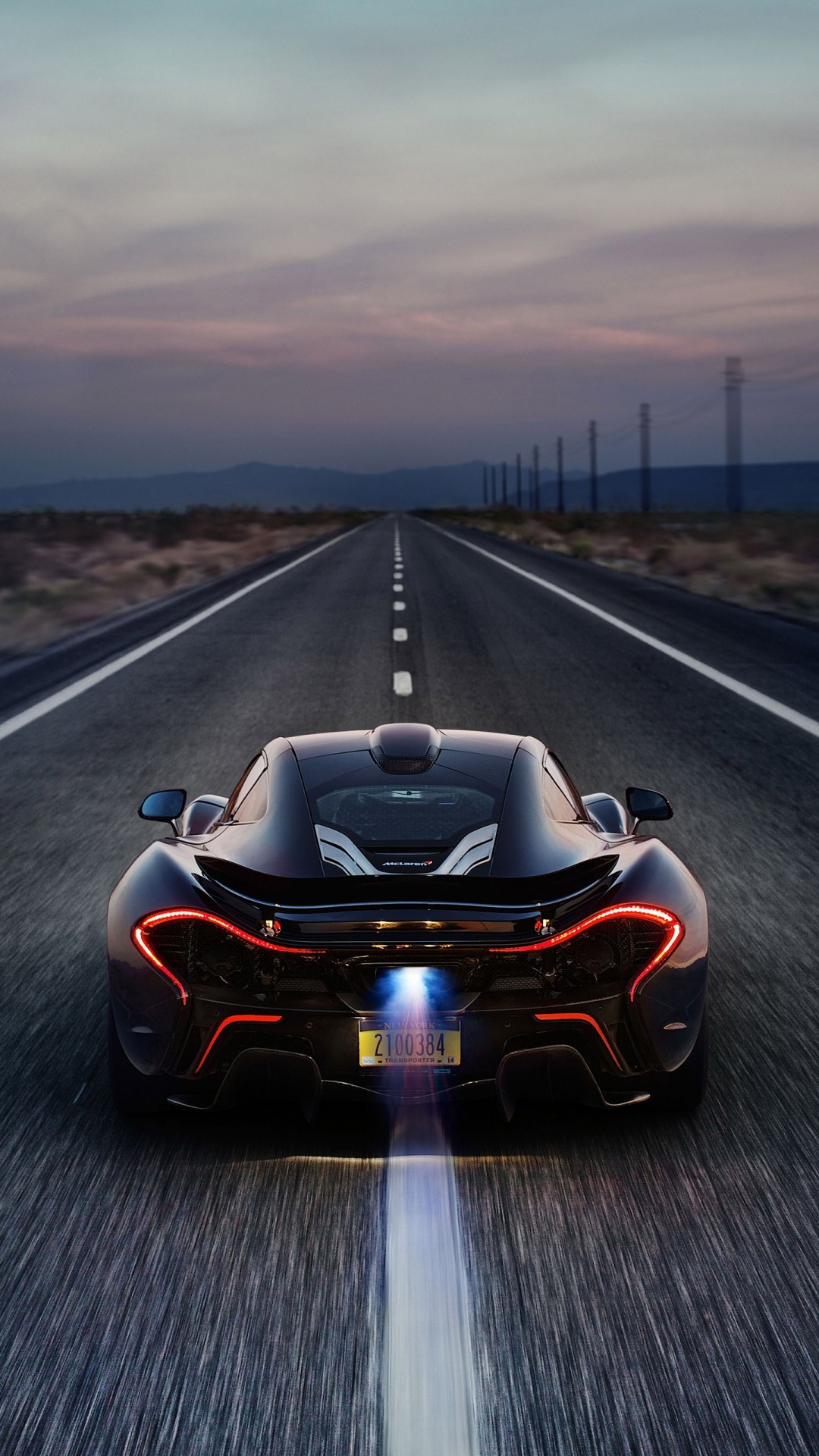 Free McLaren P1 Death Valley Race track phone wallpaper by engineer2211