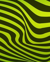 Black and green wavy lines