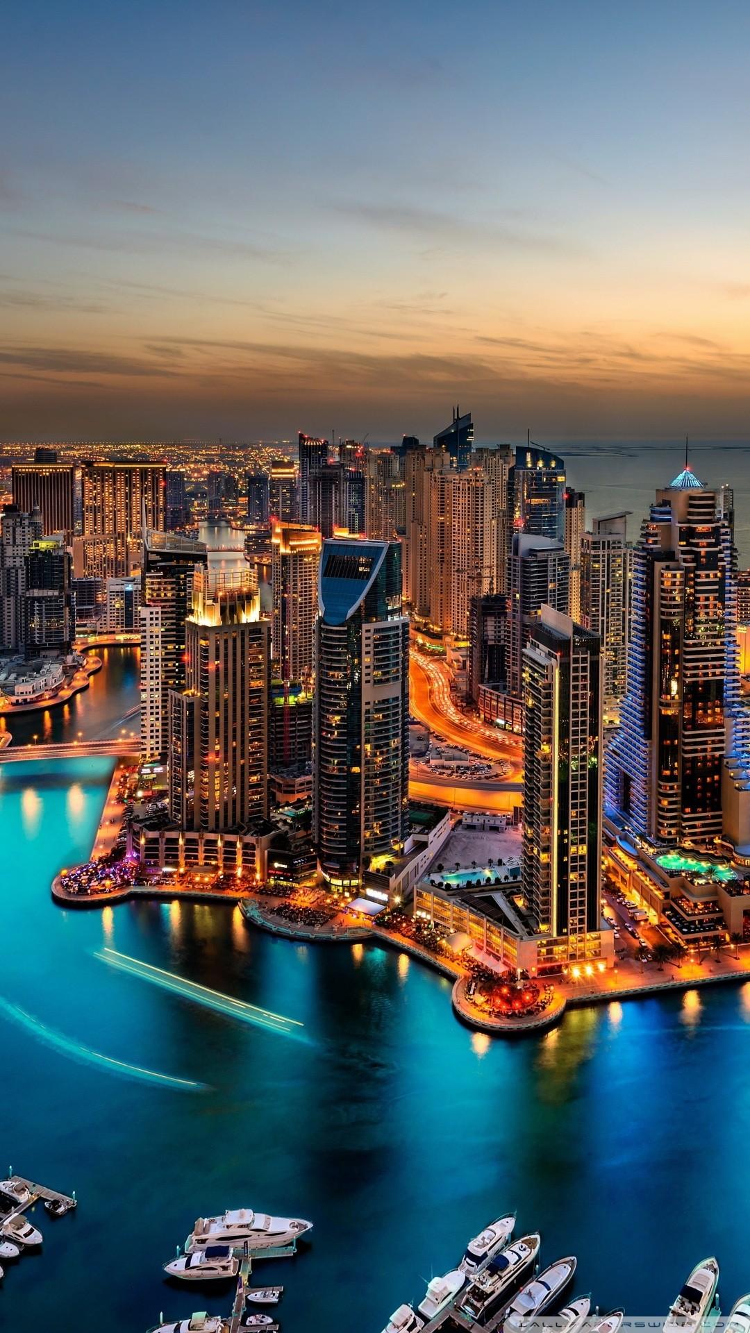 Free Dubai Marina, United Arab Emirates phone wallpaper by melissa472