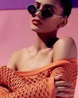 Kylie Jenner Purple Honey Sunglasses