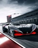 Peugeot L750 R Hybrid Vision Gran Turismo Concept