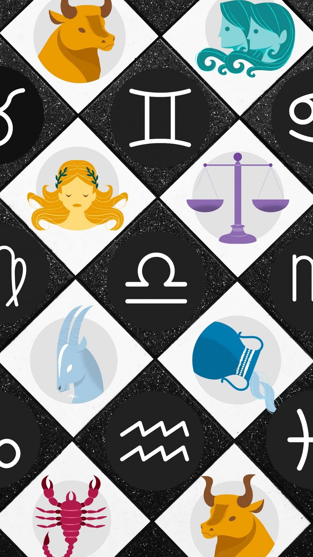 Free Zodiac signs phone wallpaper by juslovinmybabies
