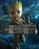 Free GROOT phone wallpaper by tribeca