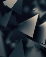 3D Triangles Dark