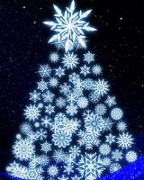 Christmas tree  art wallpaper 1