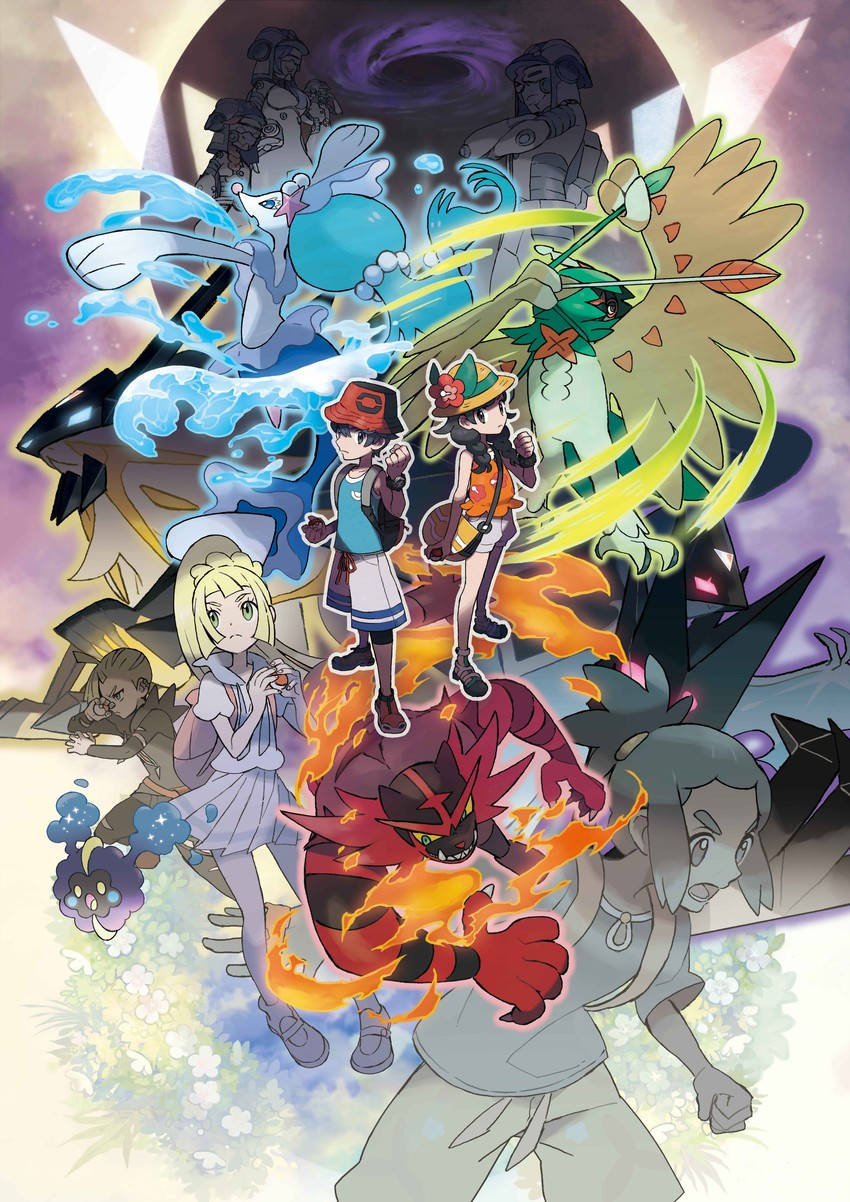Free Pokemon Ultra Sun and Ultra Moon phone wallpaper by ash_ketchump
