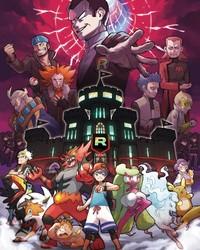 Pokemon Ultra Sun and Pokémon Ultra Moon - Team Rainbow Rocket