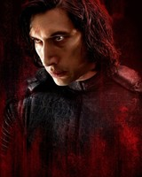 Adam Driver as Kylo Ren in Star Wars The Last Jedi