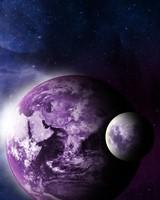 Earth abd Moon