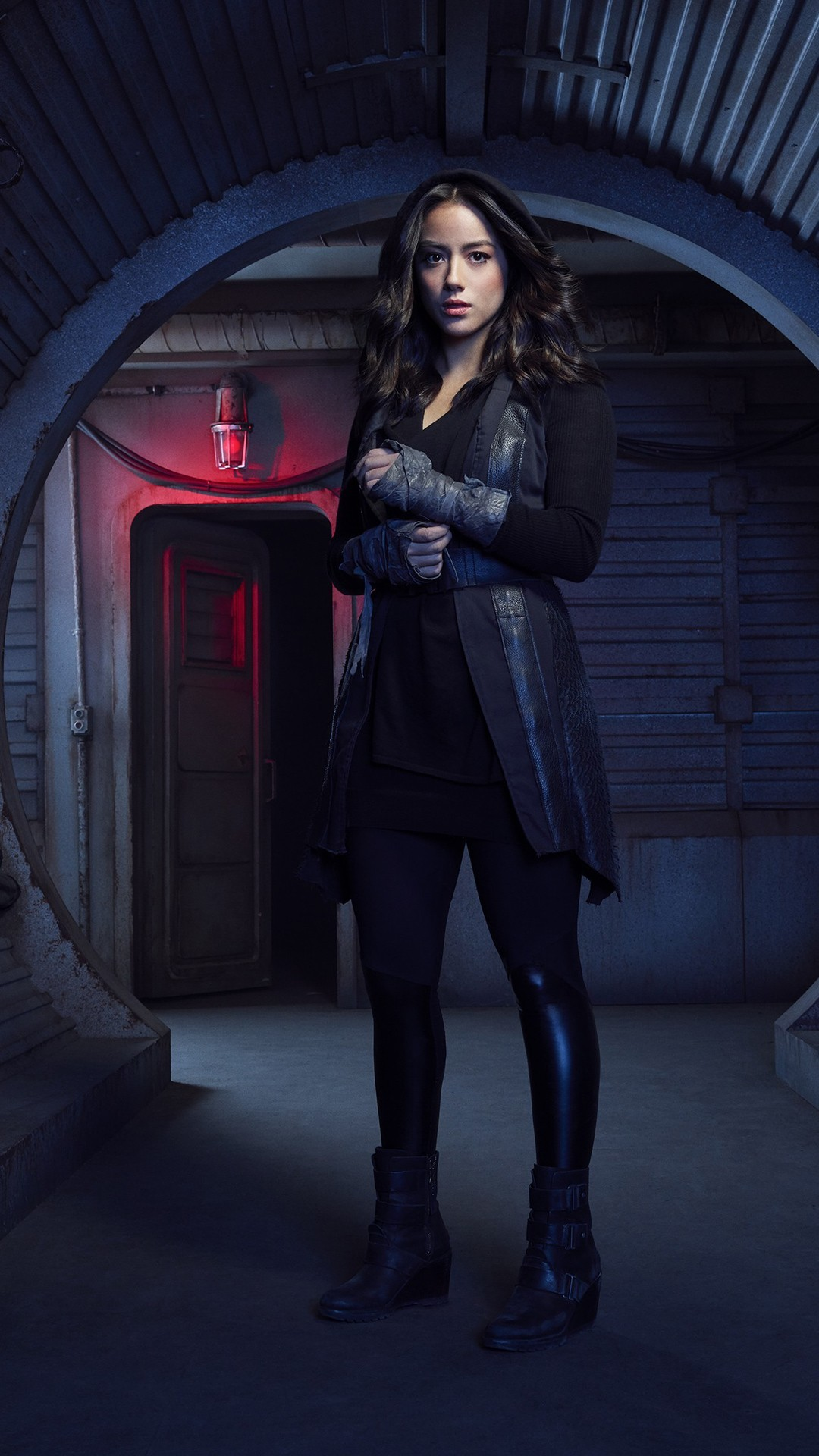 Free Chloe Bennet as Daisy Johnson Agents of SHIELD Season 5 phone wallpaper by killakam23