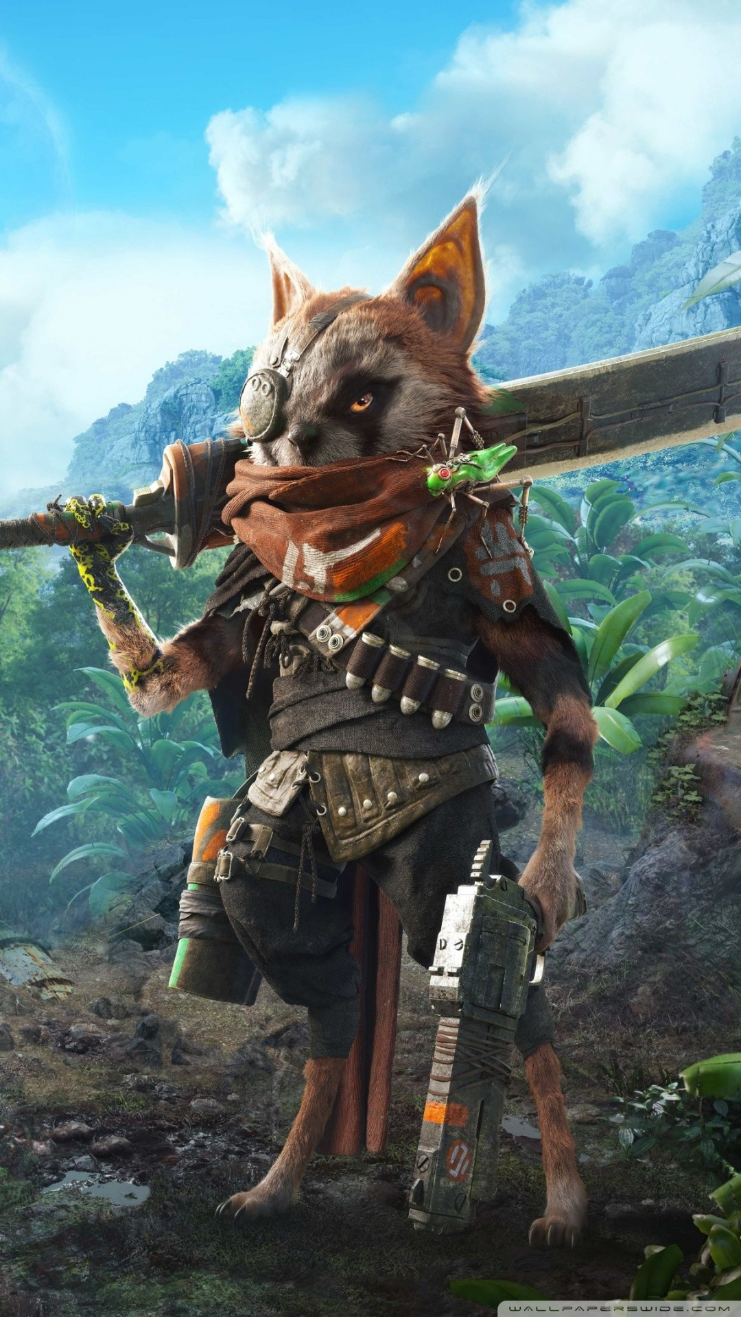Free Biomutant Video Game phone wallpaper by hellosherry1972