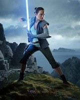 Daisy Ridley as Rey Star Wars The Last Jedi