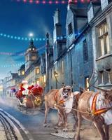 Santa Claus Reindeer Chariot