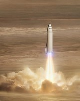 SpaceX BFR Mars mission
