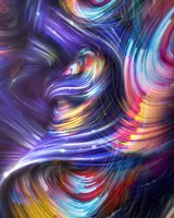 Colorful Spiral Waves