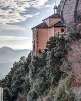 Santa Cova de Montserrat Catalonia
