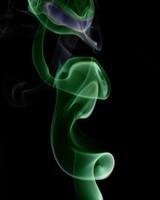 Green Spiral Smoke