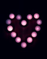 Candles, Heart, Light