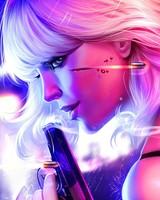 Atomic Blonde Artwork