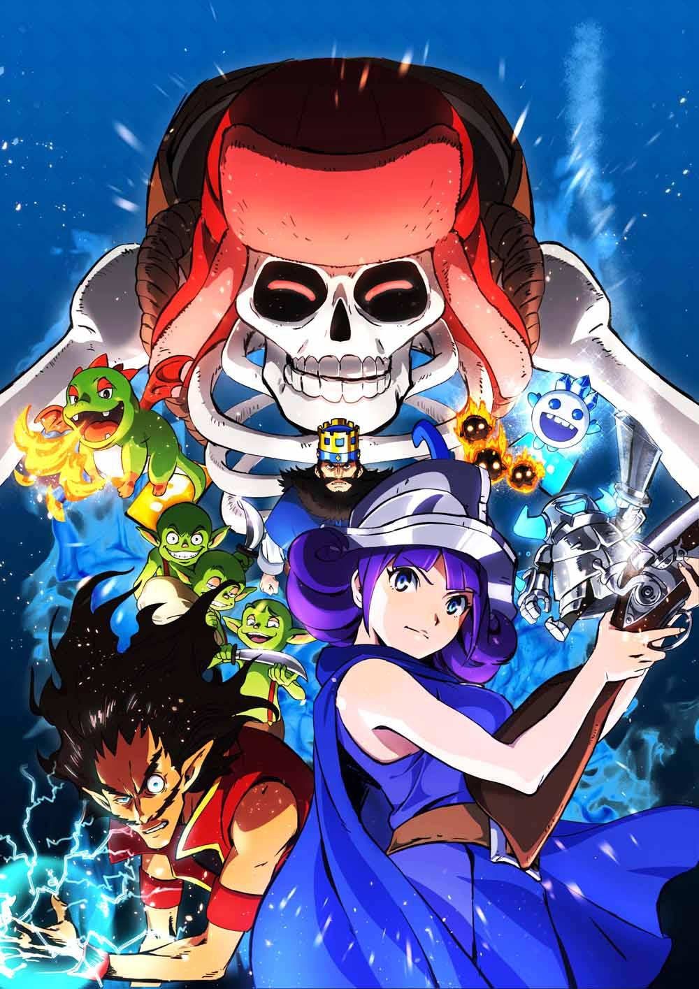 Free Clash Royale Anime phone wallpaper by ash_ketchump