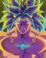 Broly Dragon Ball Z Artwork
