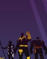 Avengers Infinity War Thanos Artwork