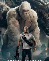 Dwayne Johnson Rampage White Gorilla