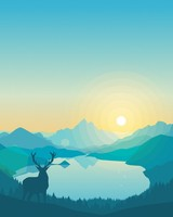 Lakeside Sunrise