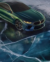 BMW Concept M8 Gran Coupe Geneva Motor  Show